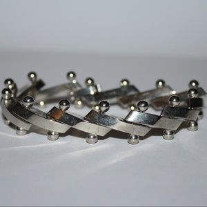 Jewelry - Sterling Silver HEAVY bracelet 7.5 inches